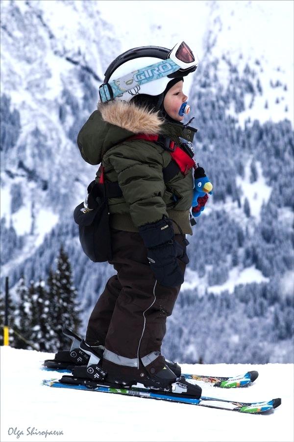 kinderen skieen