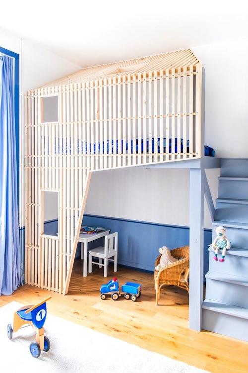12 x blauwe touch in de kinderkamer - Deco kamer volwassen blauw ...