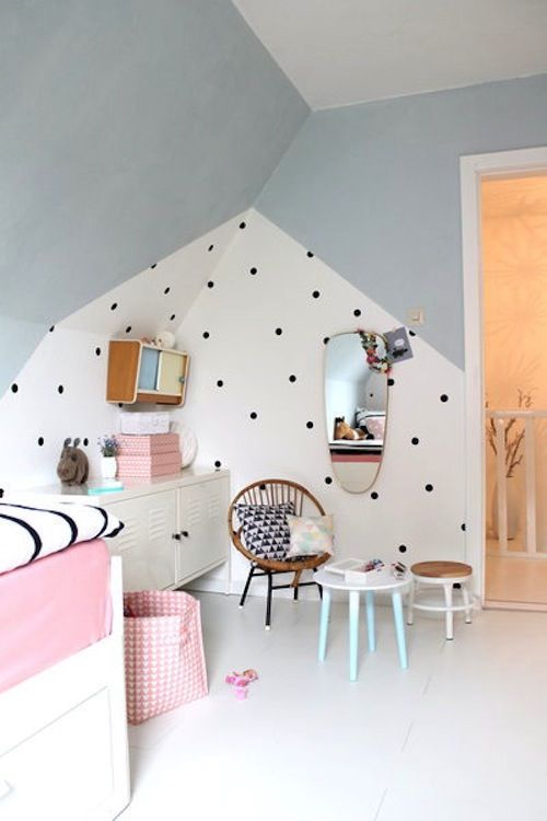 Kinderkamers met kleurvlakken