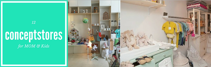 12 CONCEPTSTORES IN AMSTERDAM