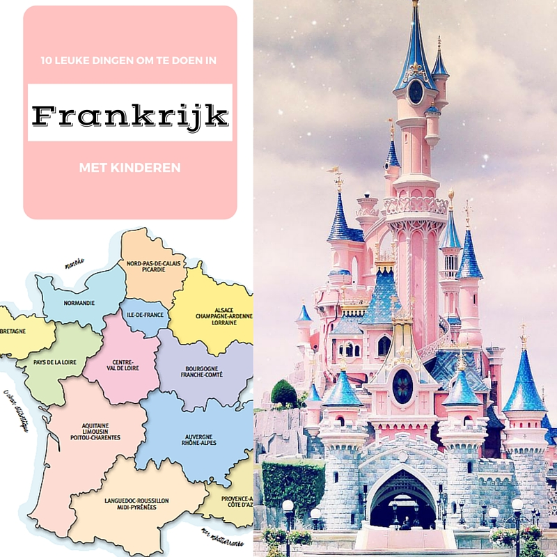 Frankrijk met kinderen