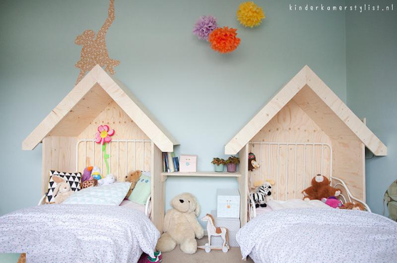 Kinderkamer Kinderkamer Bedden : 10 x kinderkamer delen #gezellig