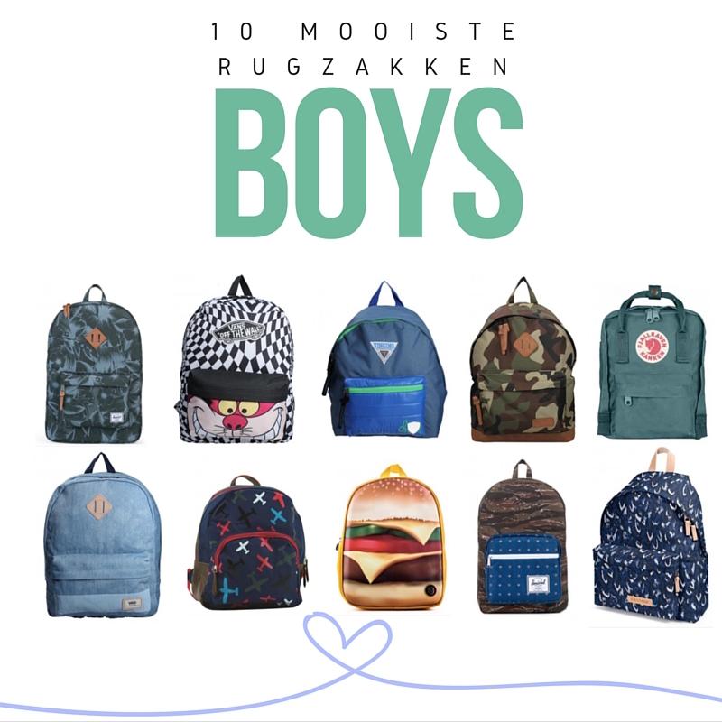 Back to School met deze BACKPACKS Boys
