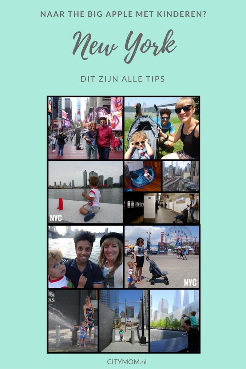 NEW YORK; ALLE TIPS MET KINDEREN