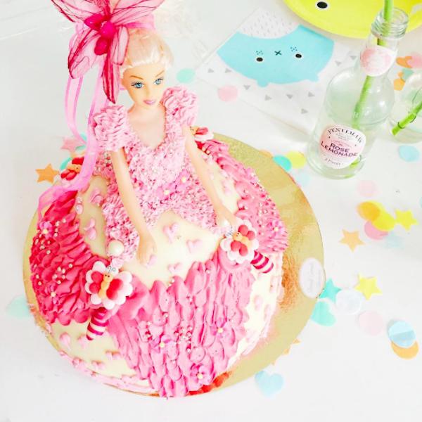 Barbie taart CITYMOM.nl