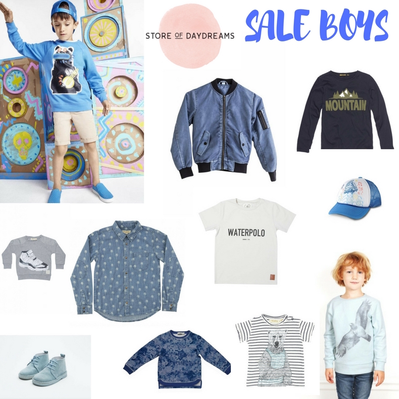SALE ITEMS BOYS STORE OF DAYDREAMS