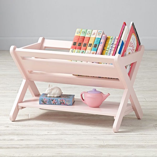 The Land of Nod bookcase pink