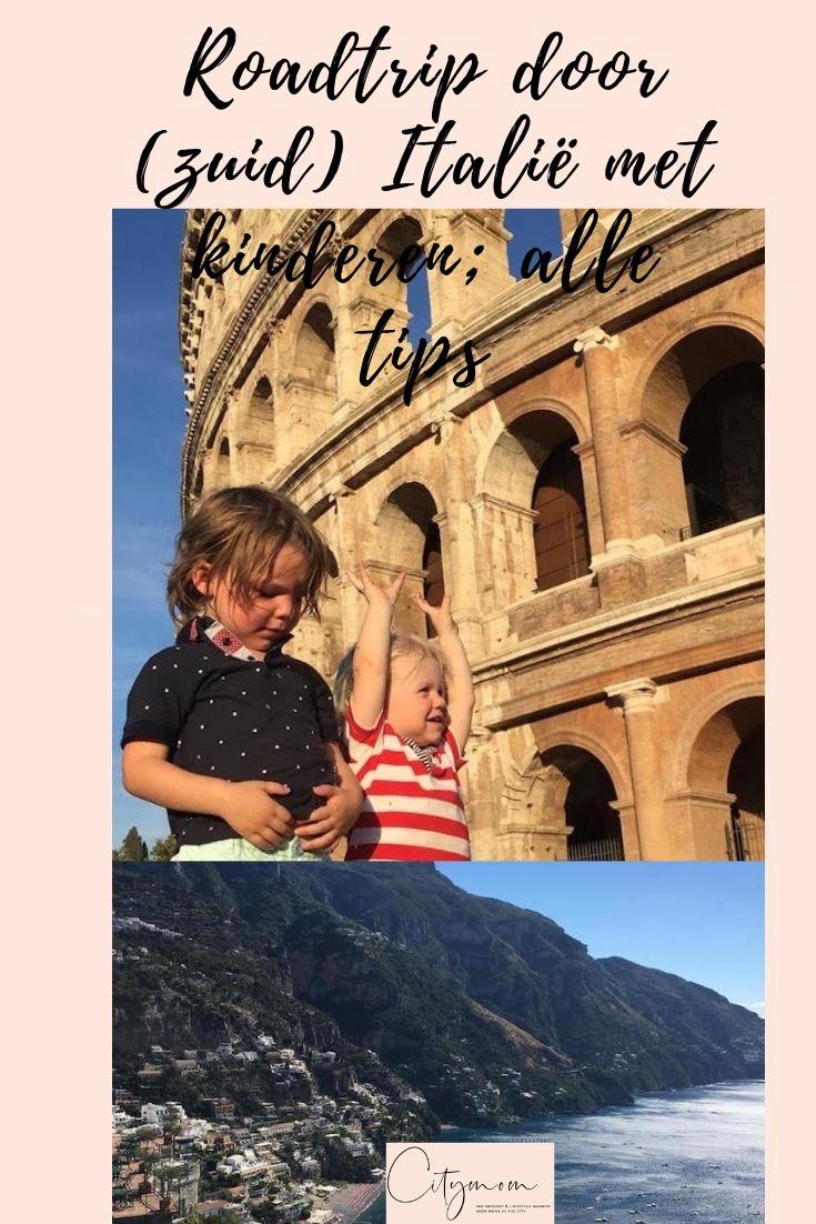 roadtrip door italie met kinderen