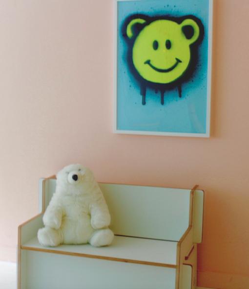 Smiley Bear Poster CITYMOM Designs
