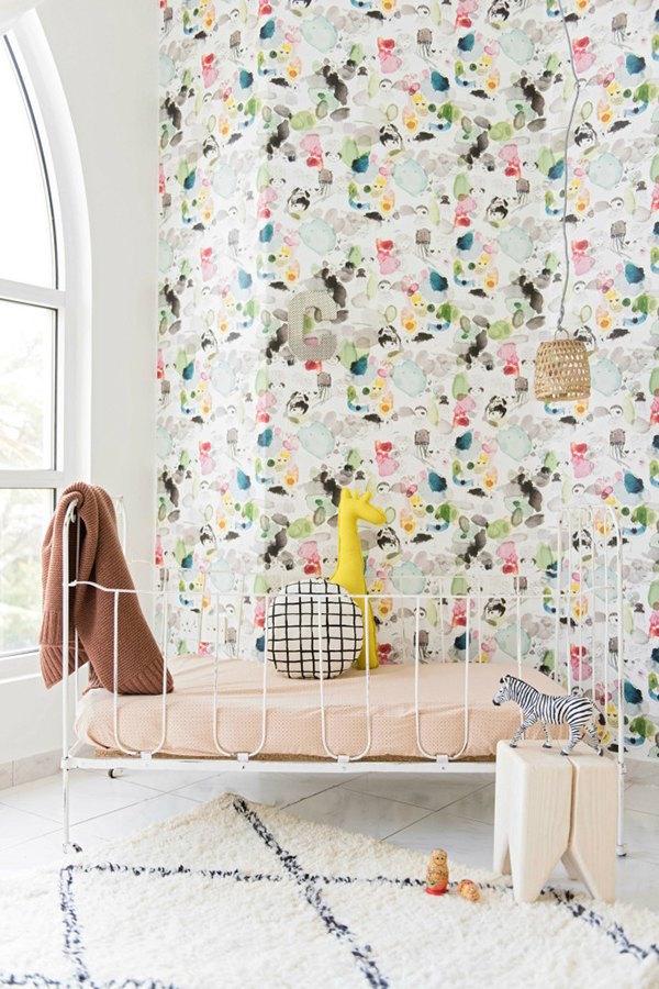 Unisex Baby Room Rustic
