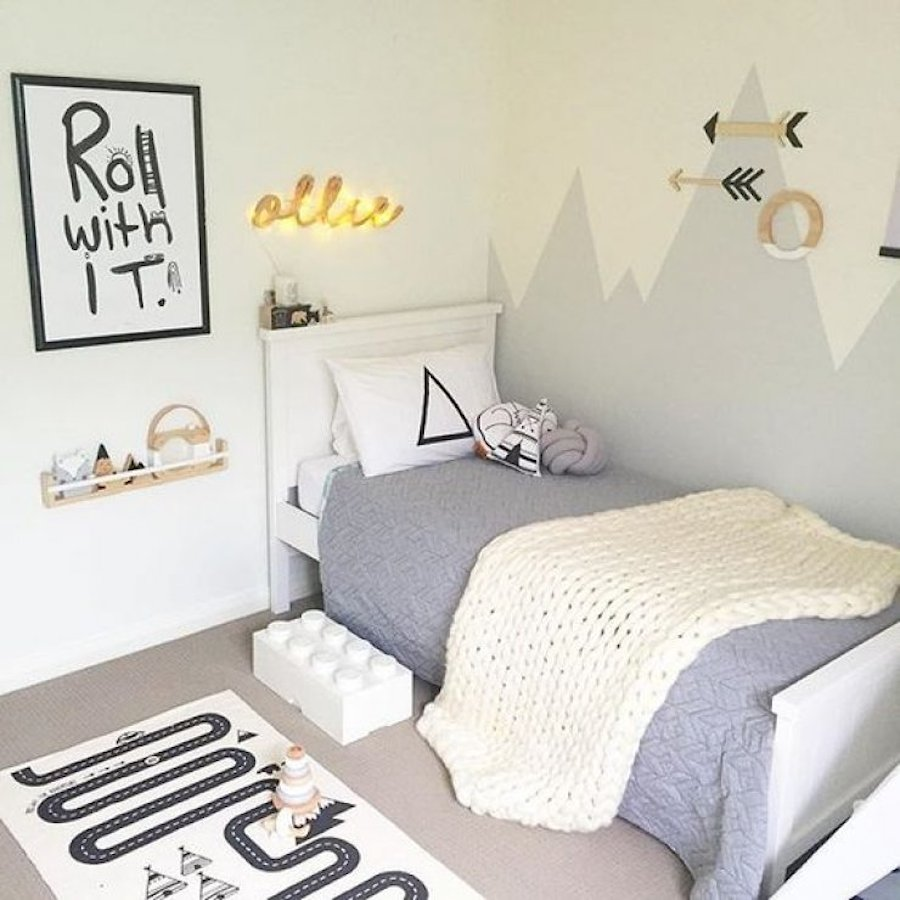 Gender Neutral Kids Room: 12 X KINDERKAMER MET BERGEN THEMA