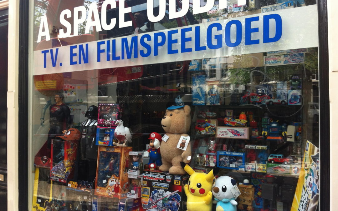 A SPACE ODDITY – AMSTERDAM