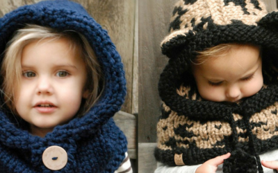 WARM DE WINTER DOOR MET DE 'COWL'