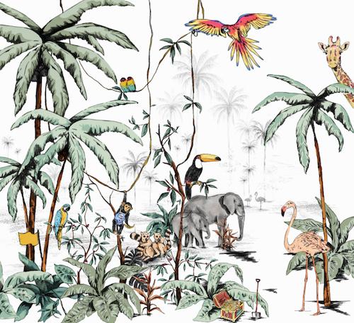 Behang Kinderkamer Jungle.Behang Voor De Kinderkamer 15 X Te Gekke Merken