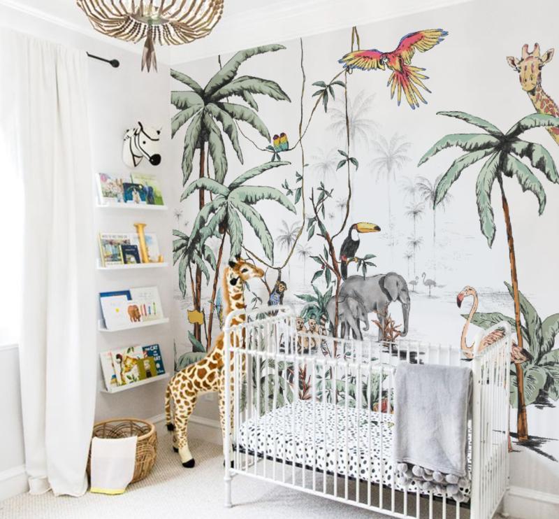 Behang voor de kinderkamer 12 x te gekke merken for Behang kinderkamer