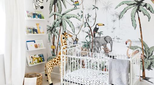 Dieren Behang Kinderkamer : Behang voor de kinderkamer te gekke merken