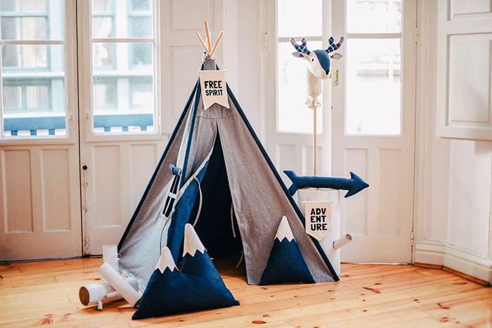 Kinderkamer Kinderkamer Thema : Kinderkamer met bergen thema