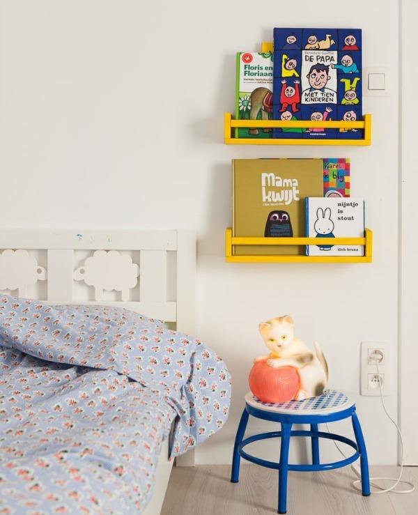 8 X IKEA HACK BOEKENPLANK VAN KRUIDENREK Bekvam 4
