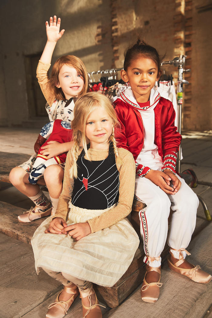 HM Studio Kids - BTS from campaign - March issues only 3