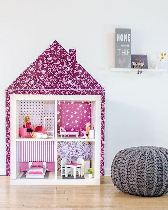 IKEA HACK DOLLHOUSE - EXPEDIT:KALLAX = DOLLHOUSE -www.limmaland.com