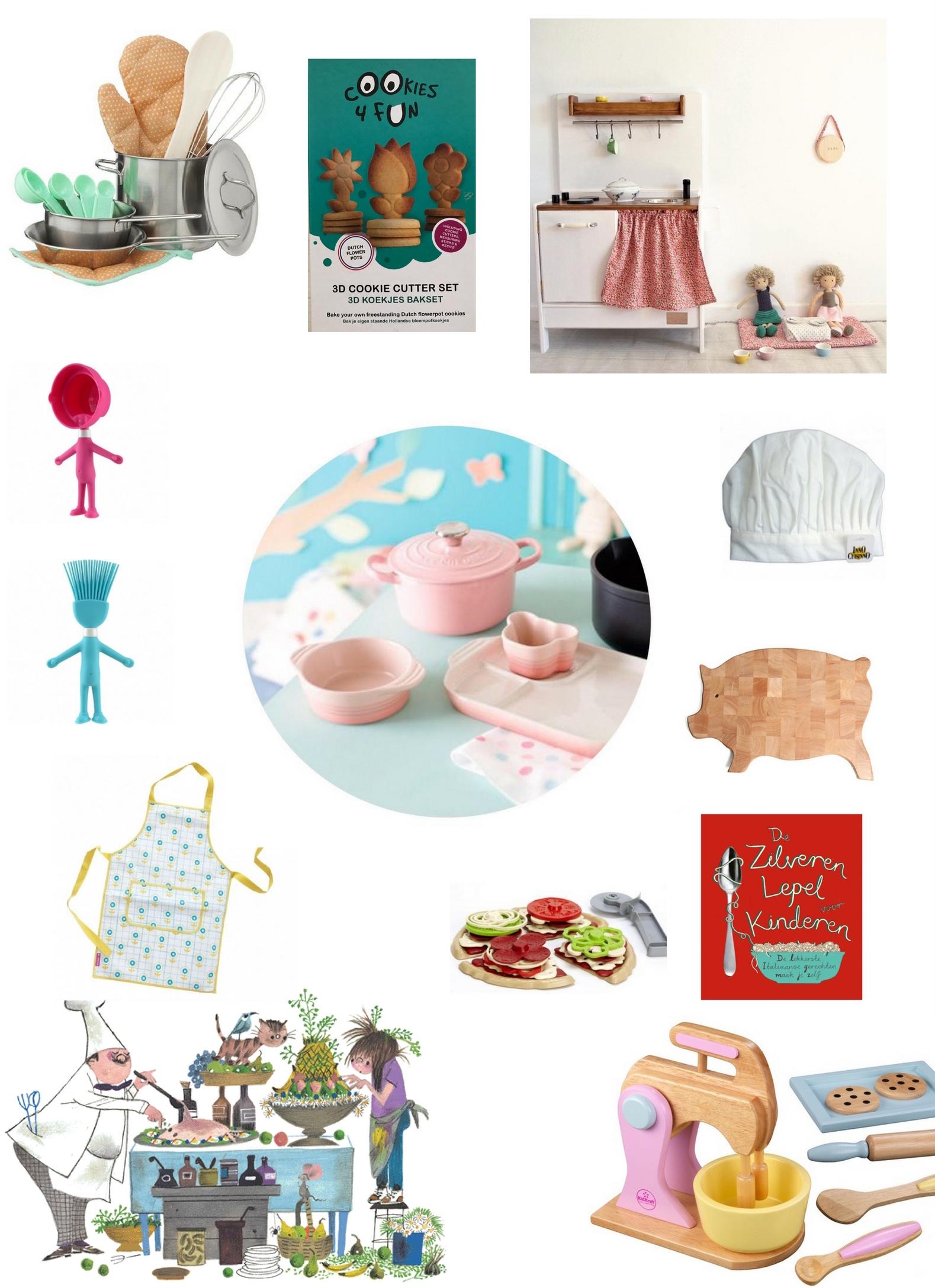 Tools voor kleine keukenprins en prinsjes