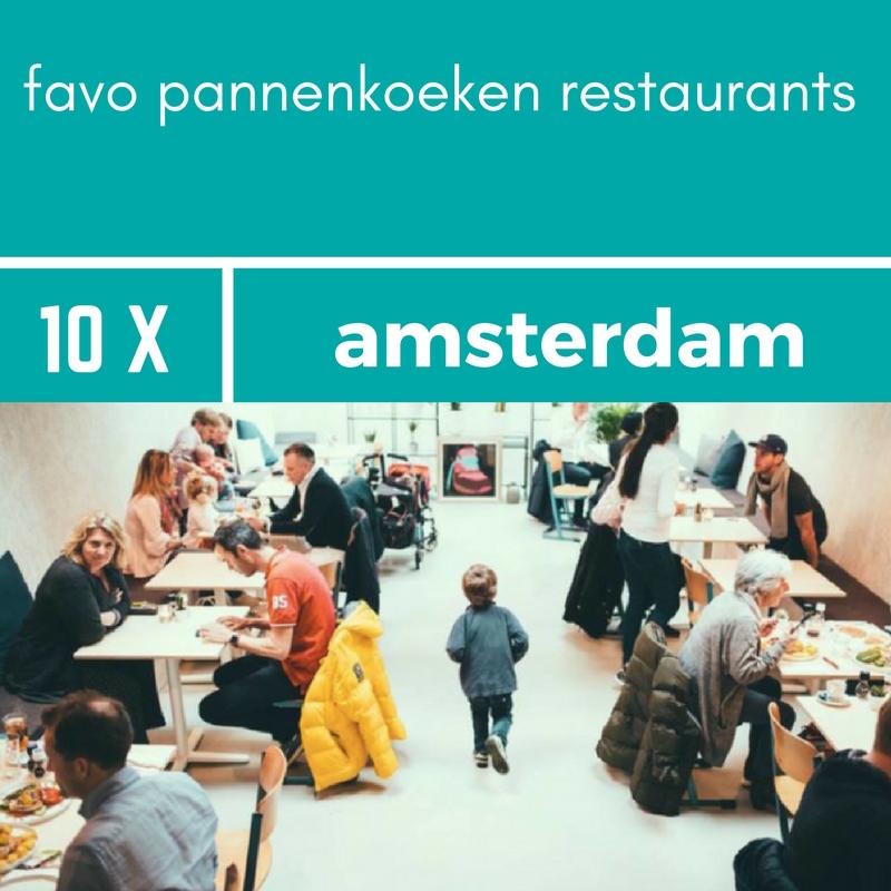 favoriete plekken om pannenkoeken te eten in Amsterdam