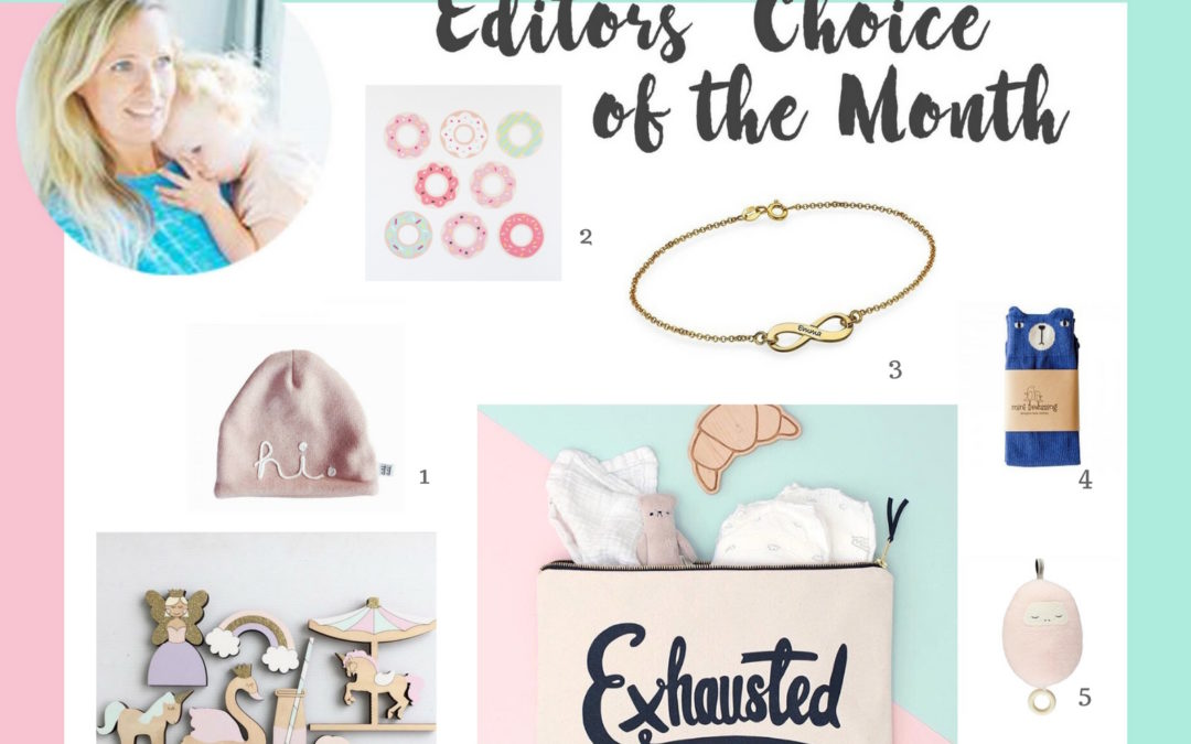 EDITORS' CHOICE OF THE MONTH APRIL