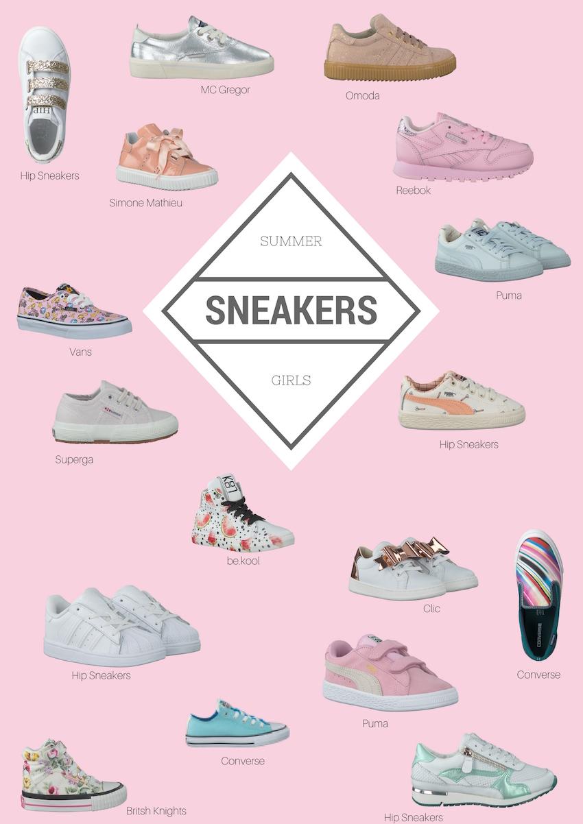 SUMMER Sneakers Girls