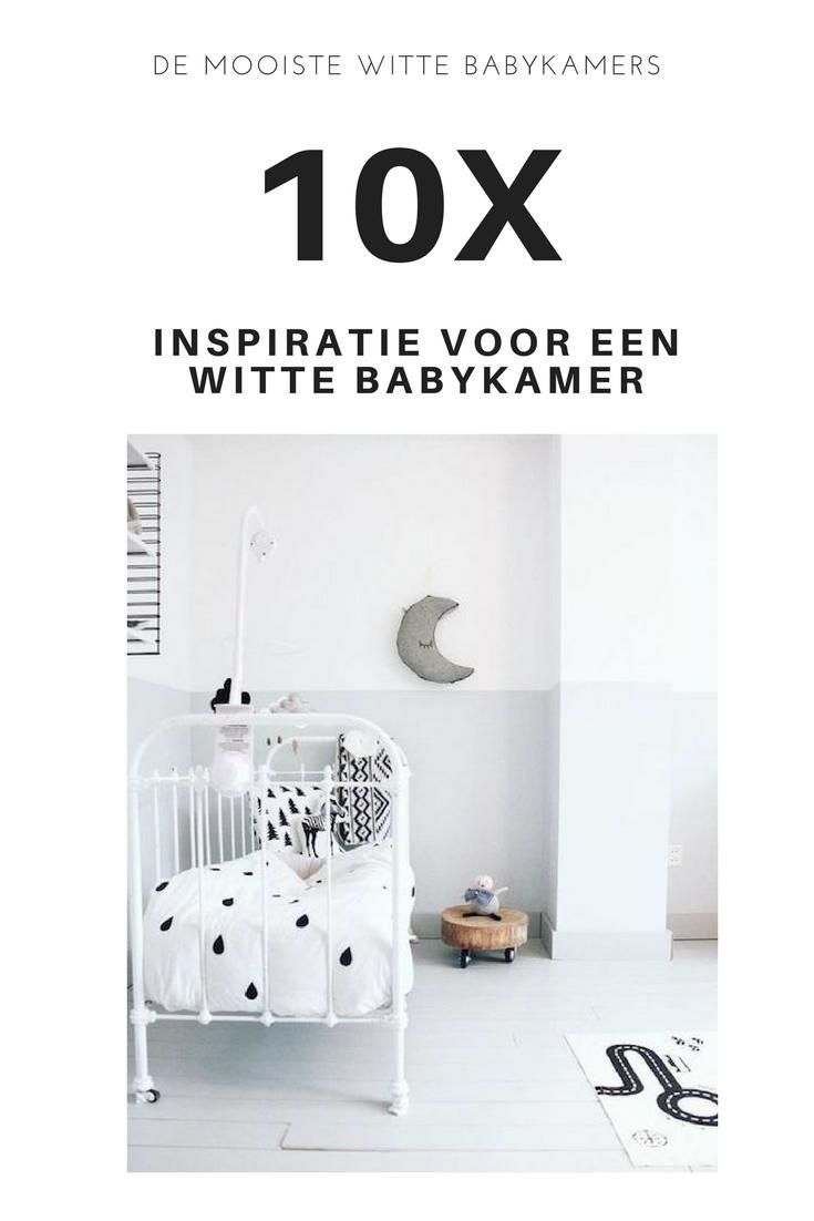 10 x inspiratie voor een witte babykamer