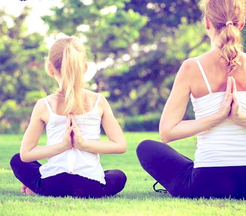 ouder en kind yoga retraite 2