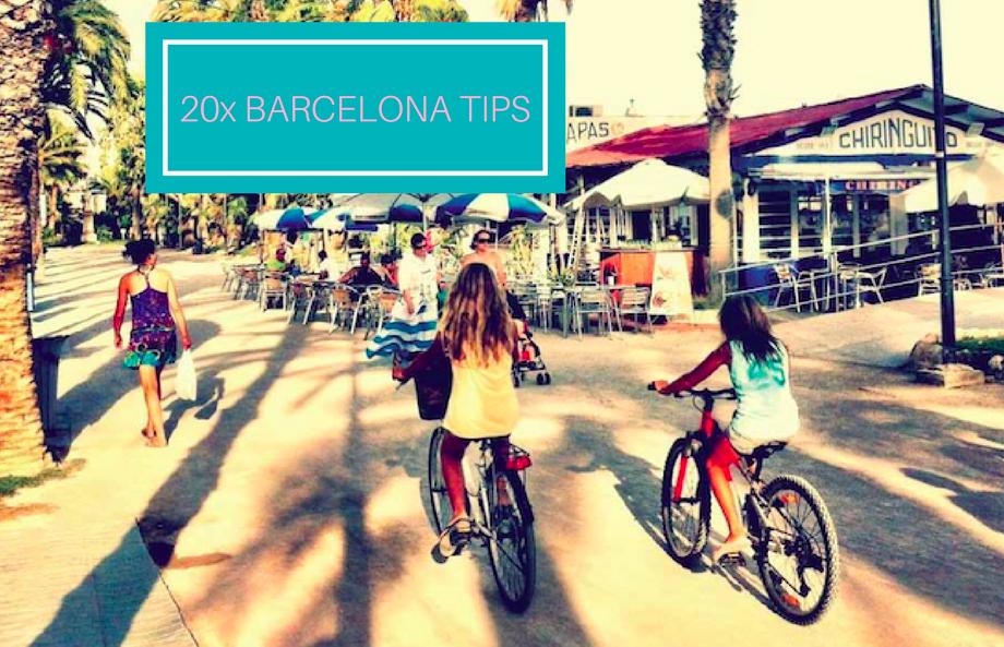 BARCELONA: 20 TIPS OM MET KINDEREN TE DOEN