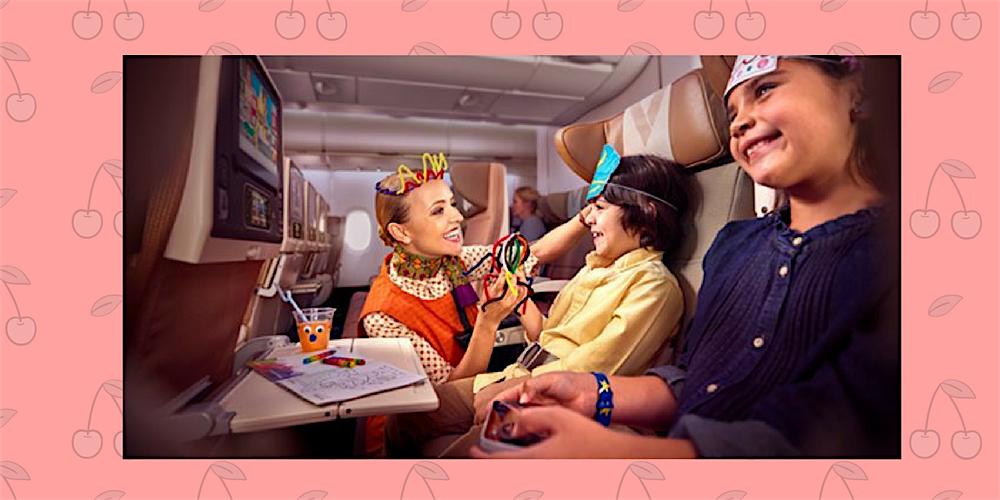 Vliegen met nanny aan boord