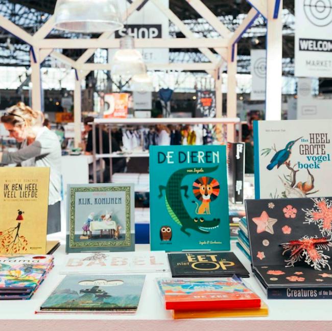 De Amsterdamse Boekhandel Market by Kleine Fabriek juli 2017