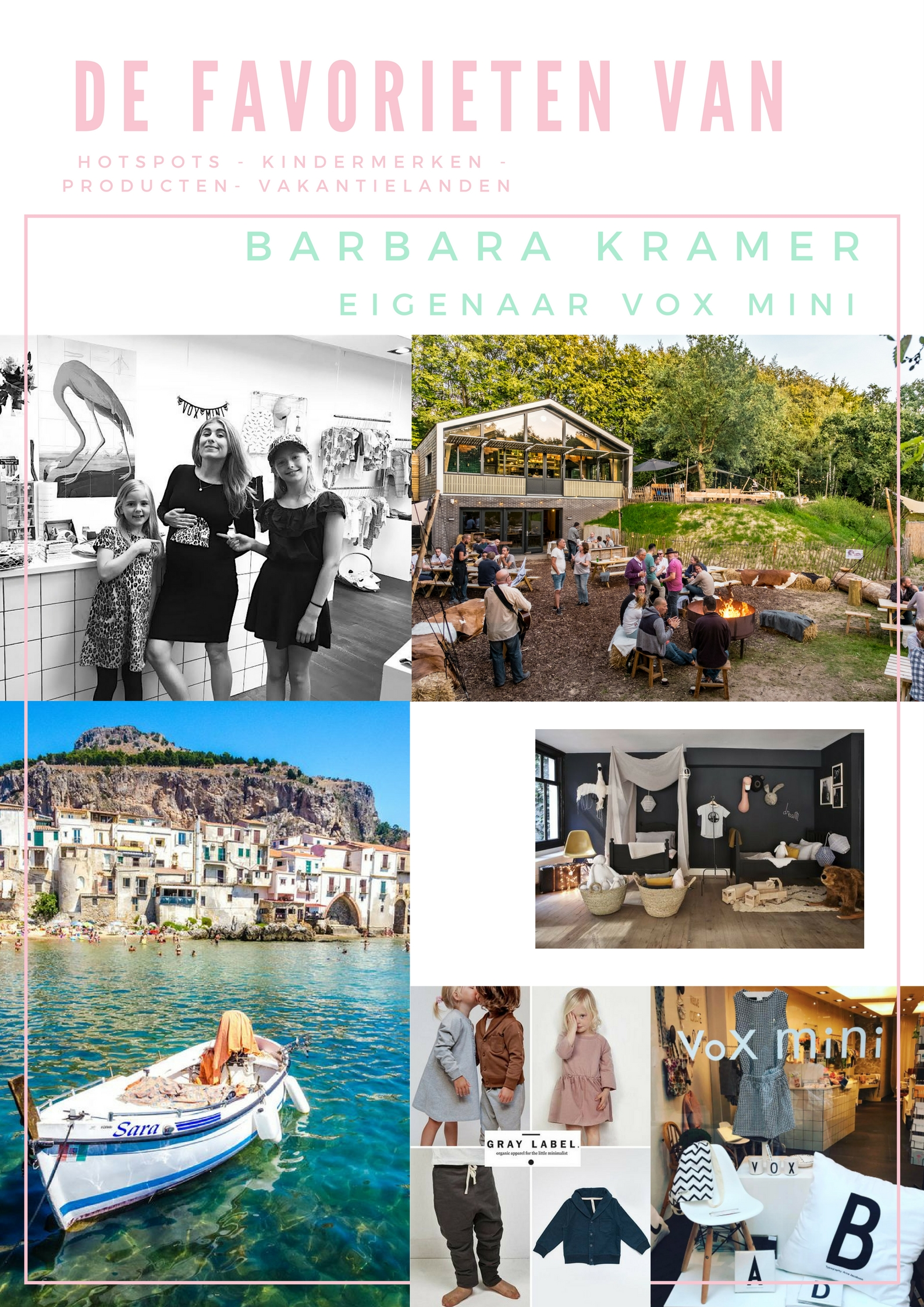 De Favorieten van Barbara Kramer Vox Mini   CITYMOM.nl