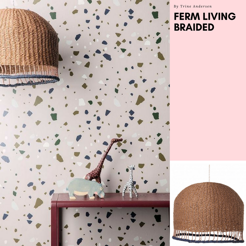 Ferm Living Braided lamp