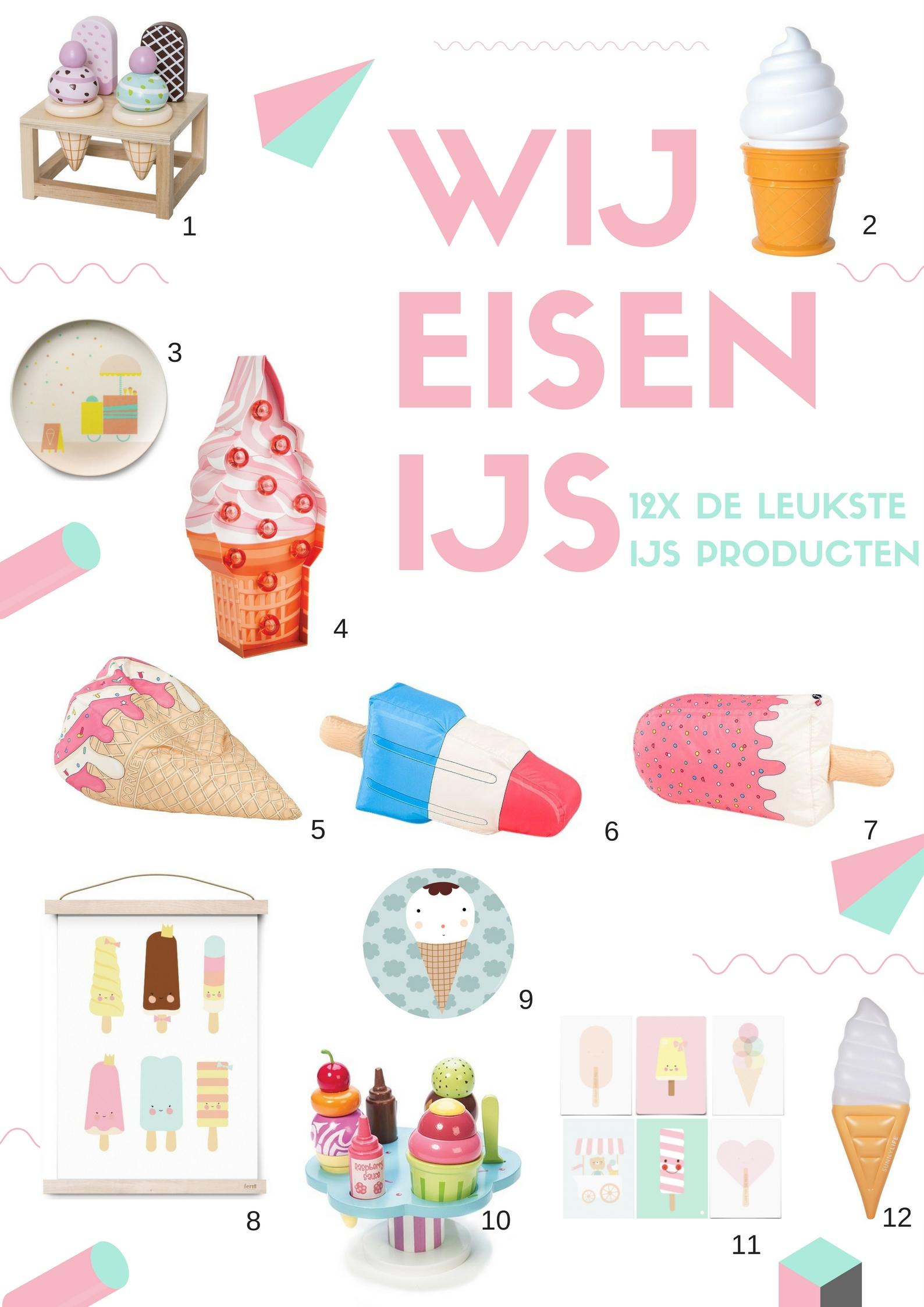 IJs producten voor kinderen