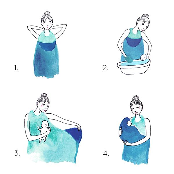 Palais de l'eau handleiding baby towel