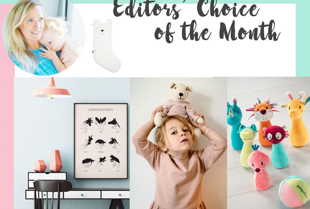 EDITORS' CHOICE OF THE MONTH NOVEMBER