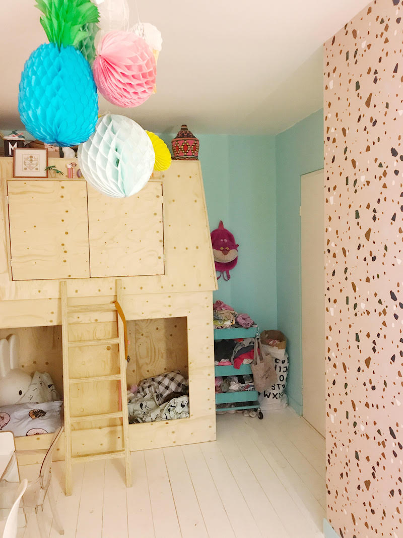 Ferm Living Behang kinderkamer
