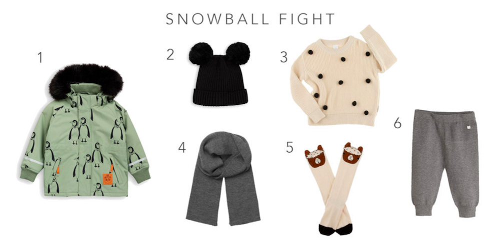 WARME WINTER ITEMS VOOR DE KIDS