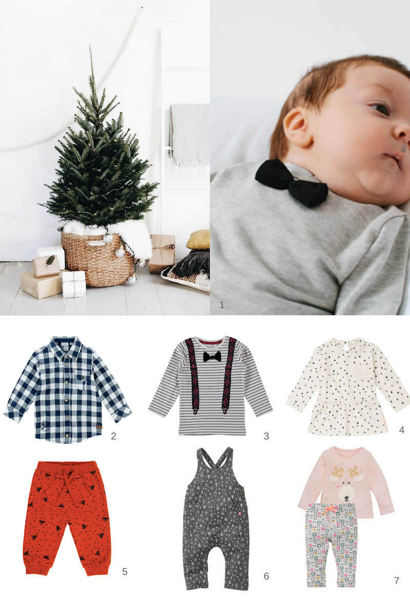 3. KERSTOUTFITS BABY