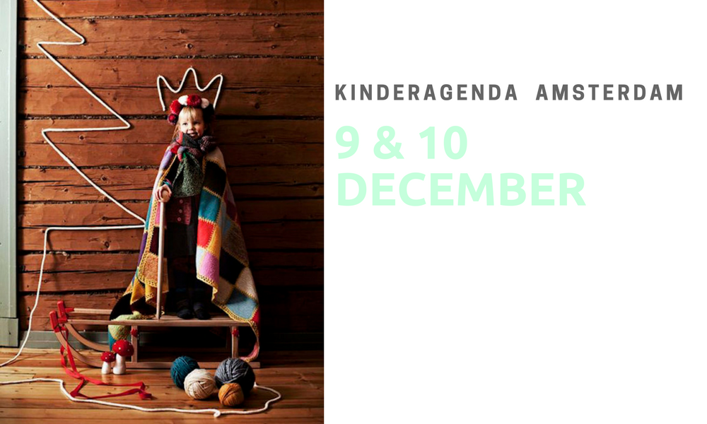 KINDERAGENDA 9 & 10 DECEMBER AMSTERDAM