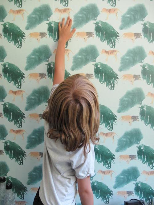 Behang Kinderkamer No Fred
