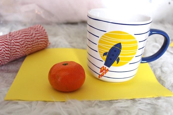 Traktatie Creche met mandarijn