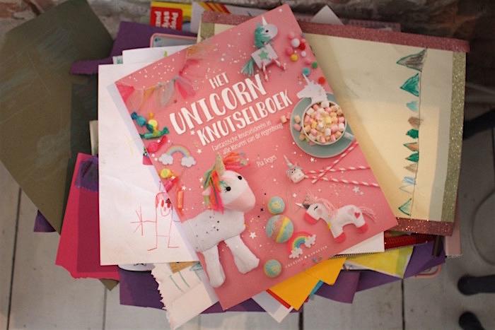Unicorn Knutselboek | CITYMOM.nl
