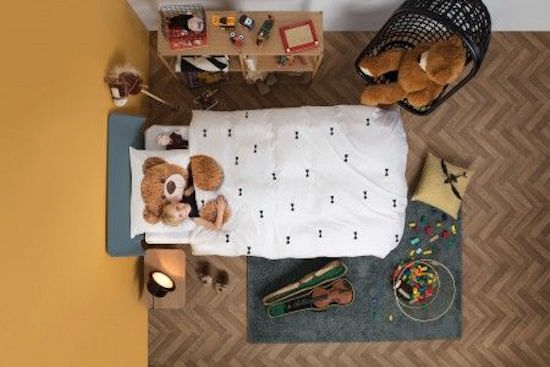 DEKBED - Snurk Teddy bear dekbedovertrek