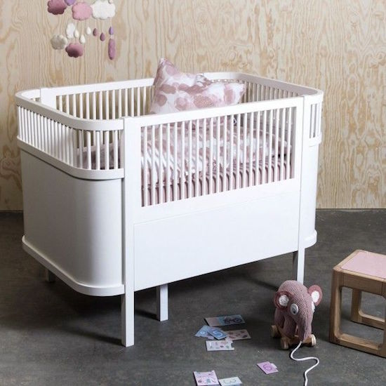 LEDIKANT - Sebra Baby:Junior kinderbed