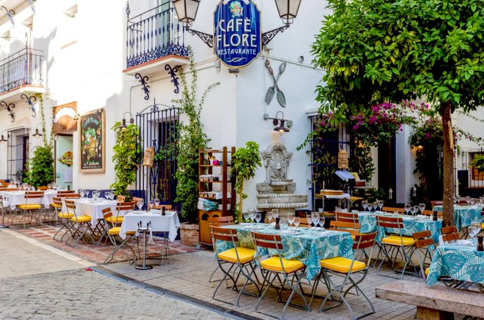 Cafe Flore Marbella
