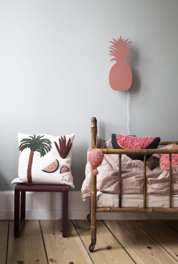 watermeloen knuffel - Ferm Living