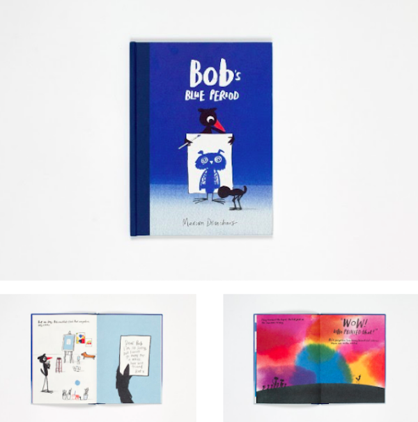 Prentenboeken Bob the Artist & Bob's Blue Period